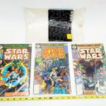 STAR WARS COMICS BOOKS  # 1 #2 #3