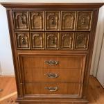 Vintage dresser / highboy.