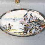 Antique Royal Kaga Nippon Geisha Serving Tray