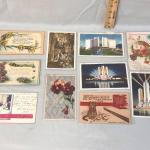 10 Vintage Post Cards