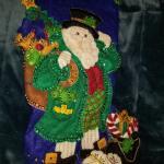 Beautiful Irish Santa Claus