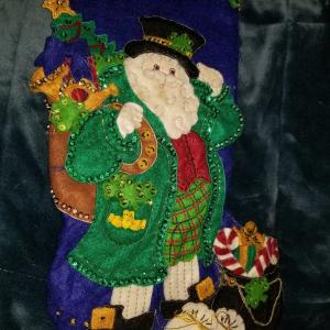 Photo of Beautiful Irish Santa Claus