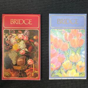 Photo of Lot of 2 Caspari® Bridge Notebooks