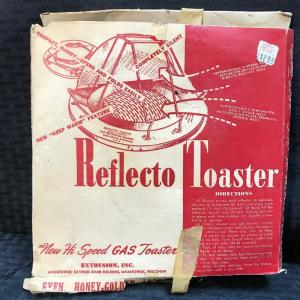 "Photo of Vintage ""Reflecto Toaster"" w. Box"