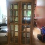 Tall Wooden Curio