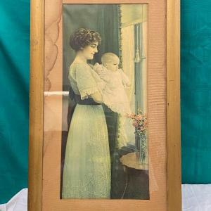 Photo of Mother and Child Art by Dory G. Geyer