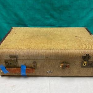 Photo of Vintage Hard Sided Air Pak Suitcase