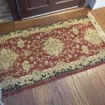 Set of three matching rugs