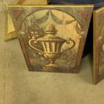3 piece art set on wood