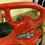 Toro leaf blower / electric