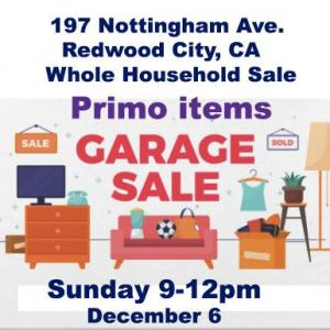 Photo of Whole Airbnb house garage sale!