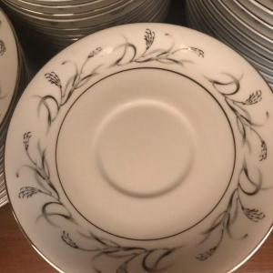 Photo of Collection of 88 Piece Made for Sears Harmony House Platinum Garland 3541 China
