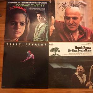 Photo of Lot of 9 Vintage Vinyl Record Albums