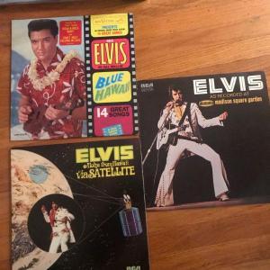 Photo of Lot of 3 Elvis Vintage Vinyl Record Albums