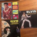 Lot of 3 Elvis Vintage Vinyl Record Albums