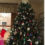 Artificial  CHRISTMAS TREE/ High Quality 7 ft x 5 ft. Evergreen