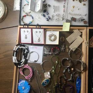 Photo of Huge Lot of Vintage Costume Jewelry