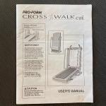 Pro•Form Cross Walk Treadmill *See Details