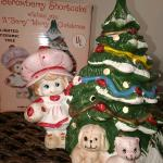 Strawberry Shortcake Lighted Ceramic tree