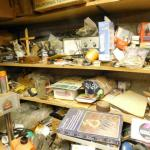 Entire Contents on Shelves, Work Bench, and in Drawers (Limited to Loose Items--