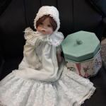 Porcelain Doll w/ Vintage Box