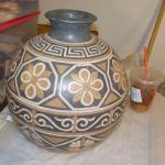 Hand Made Navaho Vase lg. 24 in.