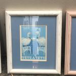 (5) Framed With Glass Duck Prints