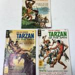 Lot #210 S Vintage Gold Key Comics Tarzan Korak 1967 '68