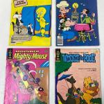 Lot 216 S Vintage Cartoon Comics Tweety Sylvester Popeye Mighty Mouse Winnie Poo