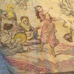 #560 Tapestry with Middle Eastern Scene - Camels etc.
