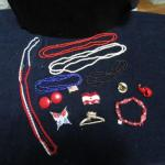 LOT 339  RED, WHITE & BLUE JEWELRY