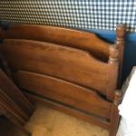 Pair of Ethan Allen Twin Size Bed Frames Headboard Footboard Rails **OFF SITE PI