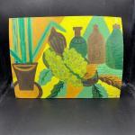 Warped Vintage Still Life Painting YD#011-1120-00267