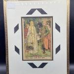 """Albert Sterner Framed Print """"Three Lovers Took Their Leave"""""""