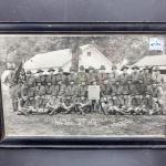 Framed 1929 Camp Ashland 134th Infantry National Guard