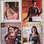 Lot 228s Lot of 4 Interweave Knits magazines 2003-2006