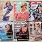 Lot# 227 s Lot of 6 Knitter's magazines 1997 1998 1999 2002