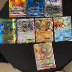 Pokemon EX rare cards