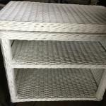 Wicker Rolling Cart