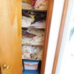 Entire Closet Full of Linens, Towels, Etc. includes Tubs Full  (Cloth Items Only