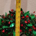 "Lot 651: (2) 20"" Christmas Wreaths"