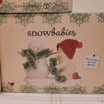 Lot 655: Assorted Dept 56 Snowbabies Christmas Figures