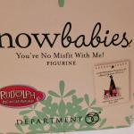 Lot 648: Assorted Dept 56 Snowbabies Christmas Figures
