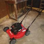 Fairly new lawn mower for sale