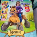 SCOUT RIDEAMALS NEW IN BOX SOLD OUT