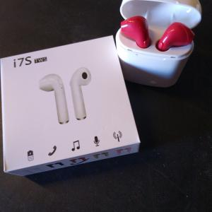 Photo of Generic Bluetooth 17S TWS Earbud, for iPhone or Android phone, Red