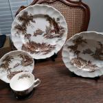 "Johnson Brothers "" Old Mill "" China Vintage"