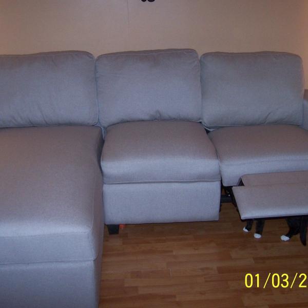 Photo of new sofa