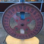 Antique Carnival Wheel