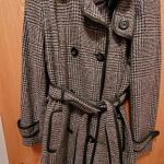 APT 9 Black & White Tie Coat